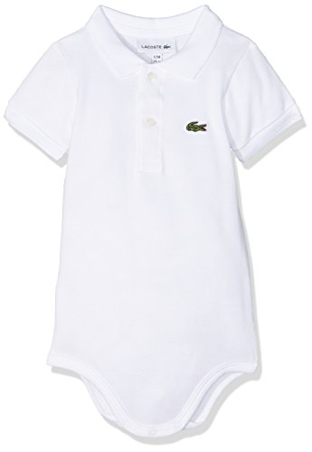 Lacoste 4J3563 Ensemble, (Blanc), 1 an (Taille Fabricant:...