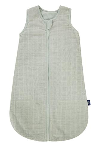 Alvi Mull-Schlafsack Uni-grün 90