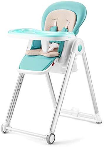 Silla de comedor para niños, silla alta para bebé, silla de comedor multifunción, asiento infantil, plegable, portátil, mesa de comedor con cojín extraíble de poliuretano
