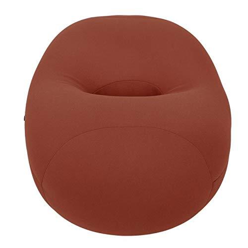 Germerse Almohada para Dormir, Almohada Suave para Dormir, Diseño Hueco Almohada para la Siesta fácil de Usar, Peso Ligero para Mujer Hombre(Brown)