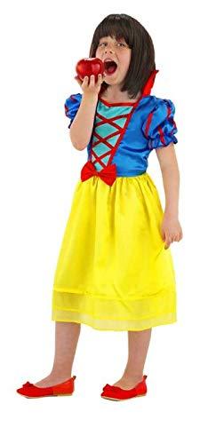 Vestito da principessa per bambine Biancaneve - taglia M per bambini - 116-134