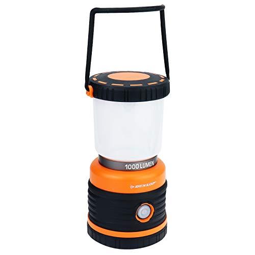 Dunlop Camping Leuchte, Schwarz
