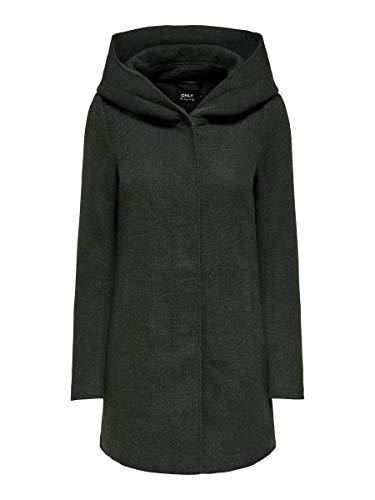 ONLY Damen Onlsedona Light Coat Otw Noos Mantel, Rosin, L EU