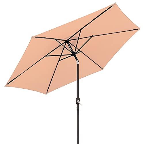 Parasol sombrilla Beige de Aluminio clásico de 300 cm - LOLAhome