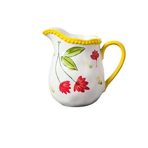 Salsera térmica Jarra de crema de porción en forma de campana Adecuado para el té de la tarde o la reunión de la azúcar de amigos y la leche de la leche 280 ml Jarra de salsa / jarra de leche para el