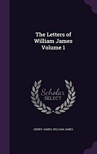 Download The Letters of William James Volume 1 1347218130