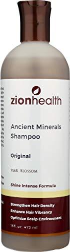 Zion, Adama, Shampooing, les minéraux argileux, 16 fl oz (473 ml)