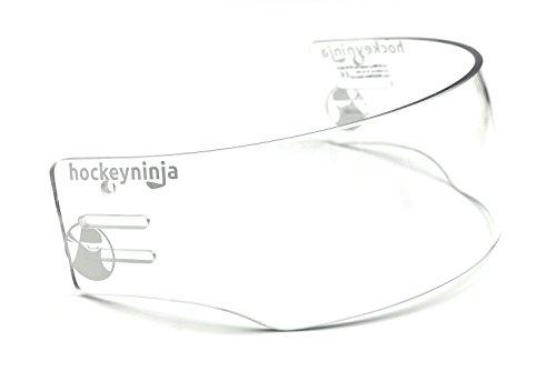 Ronin (TM R5 PRO Vented-Cut Hockey Visor (Anti-Scratch/Anti-Fog) CE Certified