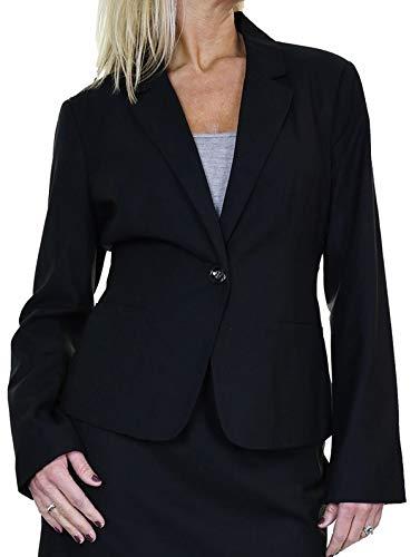 icecoolfashion Womens volledig gevoerde jas Smart Business Office 10-16