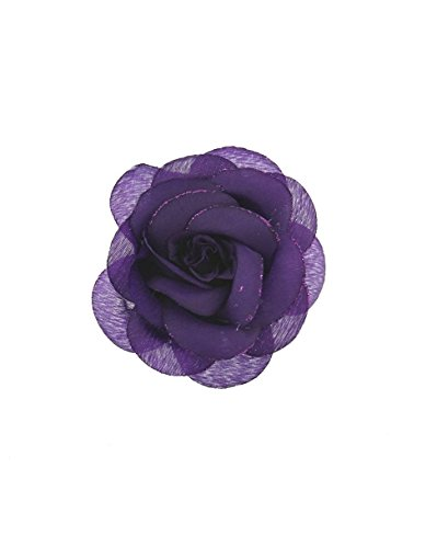 Zac's Alter Ego - Broche para el pelo con diseño de rosas con purpurina