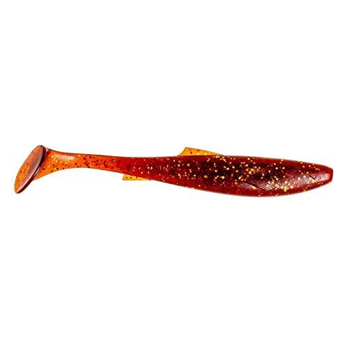 Zeck Fishing Angeln - Gummifisch Kunstköder Dude 7,6cm - 10 Stück - Motoroil