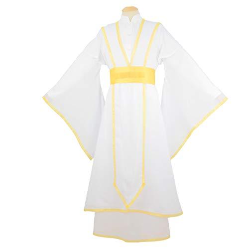 LOTOTLOMCA Cosplay-Kostüm Prince Edward Yue God-Kostüm Walküre-Kostüm Himmlisches Segen-Cosplay, Einschließlich Futter + Innengewand + Außengewand + Unterhose + Taillensiegel,L