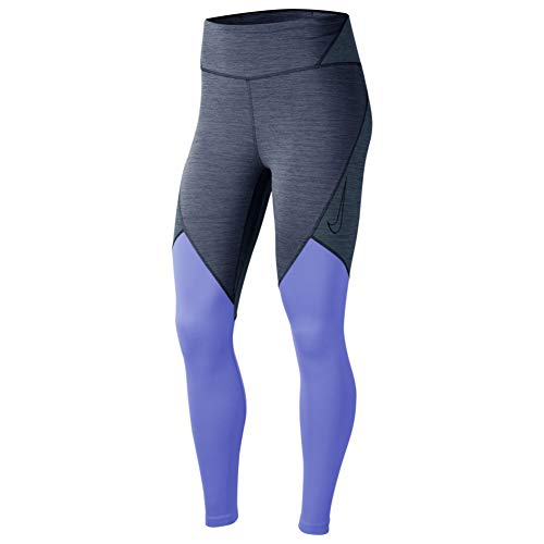 NIKE CJ3913-491 Mallas Deportivas para Mujer, Diffused Blue/Valerian Blue/Black, XS