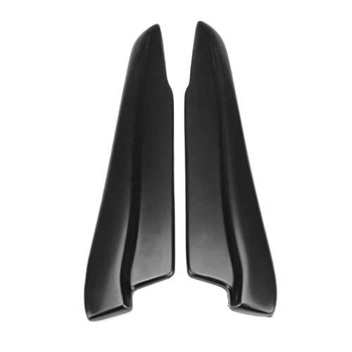TIANXIANG canjiao Shop 2X 52cm Universal Car Trasero Parachoques Difusor de Labios Spats Splash Guard Extender Valance Lip Ajuste for BMW E90 E91 E91 E92 E93 Todo Estilo (Color : Black)