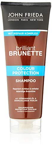 John Frieda Brilliant Brunette Colour Protection Shampoo - 1er Pack (1 x 250 ml)