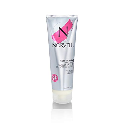 Norvell Prolong Sunless Tanning Color Extender Moisturizing Lotion,...