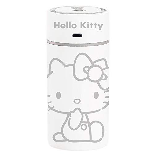 Negative Ion Mute Hellokitty Creative Diamond Cup Humidifier Car Mini Portable Usb Colorful Night Light Office Humidifier White