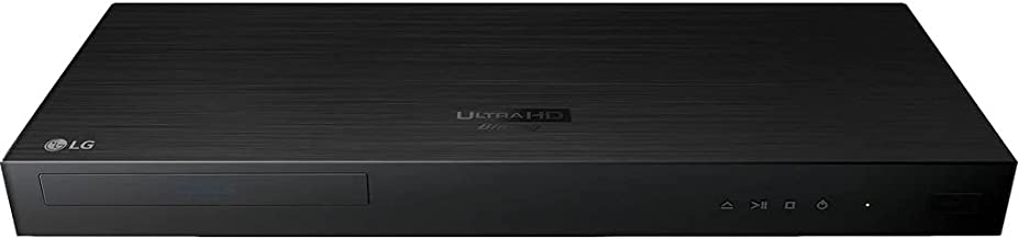 LG 4K Ultra Multi Region Blu Ray Player - Multi zone A B C Blu-ray Pal Ntsc - Dual Voltage -Bundle with Dynastar HDMI Cable