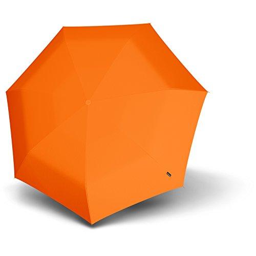 Knirps Floyd manuell, Orange, Länge ca. 27 cm, Durchmesser ca. 5 cm