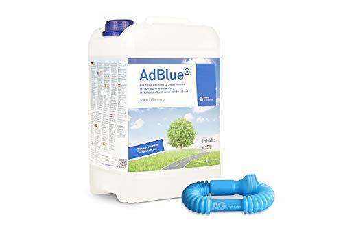 A&G-heute AdBlue 5l Hochreine SCR Harnstofflösung mit Ausgießer Reduktion für alle Automarken im Kanister