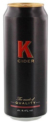 K Cider - englischer Apfelwein in der Dose 8,4% Vol. - 500ml