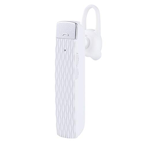 Heave Bluetooth Multi-Language Translator Earphone,33 Languages Voice Translator Earbuds,Wireless Bluetooth Earphone Real Time Translation in-Ear Translator Earpiece White