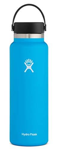 Hydro Flask Trinkflasche, Edelstahl und vakuumisoliert, große Öffnung mit auslaufsicherer Flex Cap, Pacific, 1180ml (40oz)
