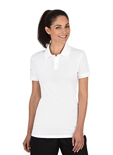 Trigema Damen Poloshirt, Weiß (weiß 001), 40 (Herstellergröße: M)