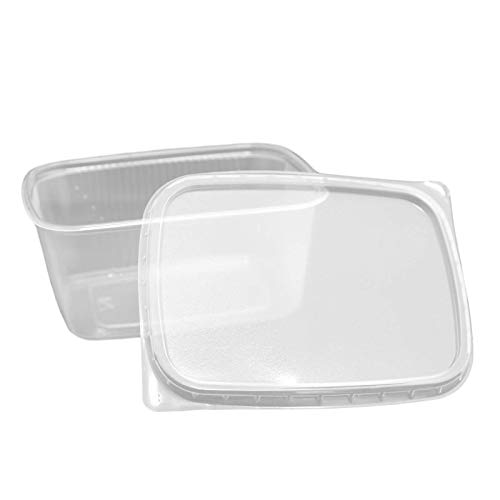 Feinkostbecher mit Deckel 250ml 250St Verpackungsbecher Salatbecher Salatschale