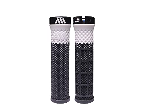 All Mountain Style AMS Puños Cero Grips, Unisex-Adult, Negro/Blanco, Universal