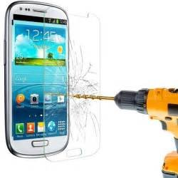 A R D ACCESSORIES 2.5D Smooth Curved Edge Front Tempered Glass Screen Protector Guard for Samsung Galaxy S3 / 9300
