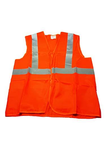 Quattroerre 3026 - Chaqueta de Seguridad de Alta Visibilidad homologada, Color Naranja