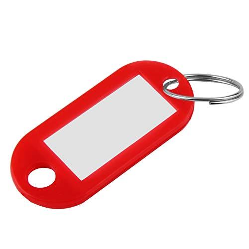 Peanutaso 1 Unids Etiquetas Frescas de Plástico para Llaveros ID de Llavero Etiquetas de Identidad Etiqueta de Tarjeta de Nombre de Estante Precio de Tienda