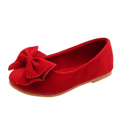 serliy Kleinkind Schuhe Kinderschuhe Mädchen Kristall einzelne Schuhe Ballerinas Schuhe Lederschuhe MädchenPrinzessin Schuhe