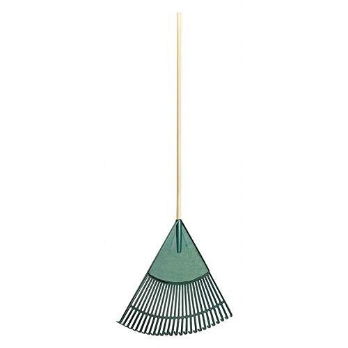 """26-Tine Leaf Rake with 48""""LHardwood Handle"""