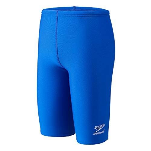 speedo Boy's Swimsuit Jammer Endurance+ Solid USA Youth,Speedo Blue,28