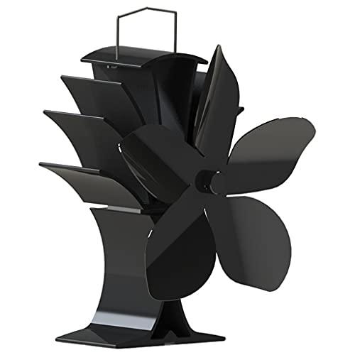 MERIGLARE Ventilador de Estufa de Distribución de Circulación de Ventilador de Estufa de Calor para Cocina Casera