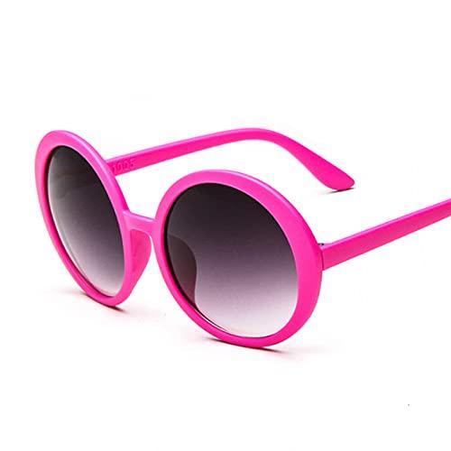 LUOXUEFEI Gafas De Sol Gafas De Sol Redondas Mujer Gafas De Sol Mujer