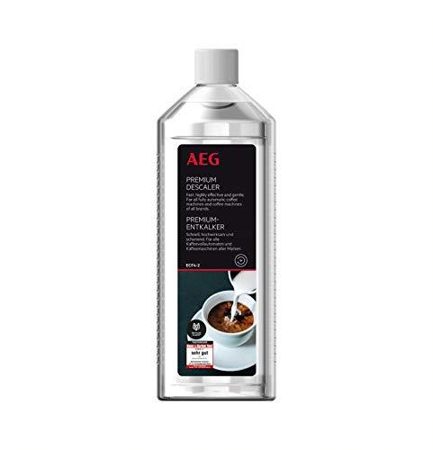 AEG ECF4-2 Premium-Entkalker für alle Vollautomaten (100% Garantie für alle Marken, Testsieger, 500 ml für 5 Anwendungen statt 4, schonend entkalken, geruchsneutral, umweltverträglich)