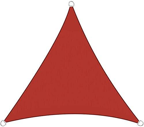 Shade Toldo Vela de Sombra Toldo Vela Triangular Impermeable A Prueba De Viento Protección UV Resistente A Desgarro Y Intemperie for Patio, Exteriores, Jardín (Color : 10#, Size : 3x4x5m)
