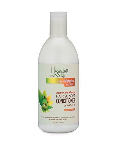 Hawaiian Silky Après-shampooing ultra-doux au vinaigre de cidre