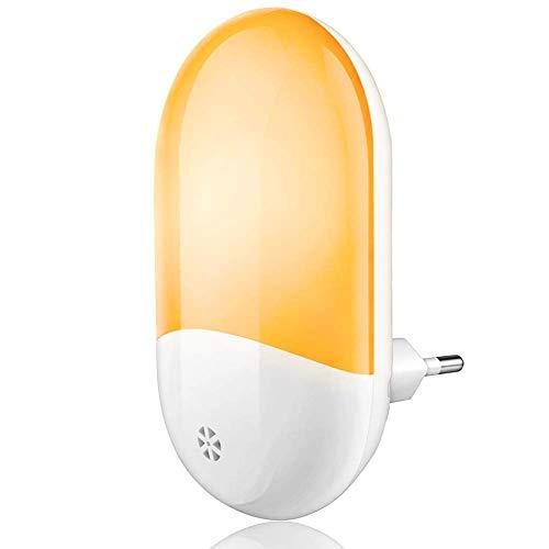 Luz Nocturna Infantil, SUNSEATON Lámpara Nocturna con Sensor Activo Luz Quitamiedos Infantil con Enchufe Pared, Lamparas Infantiles para Habitación Bebé Niños