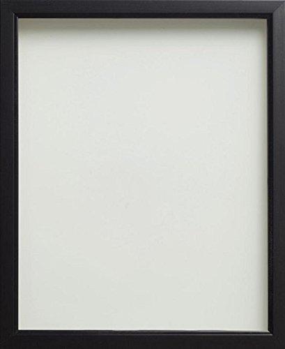 Frame Company Bilderrahmen aus der Drayton Reihe, in verschiedenen Größen erhältlich, Schwarz, schwarz, 10x8 inches - 25.4x20.3cm
