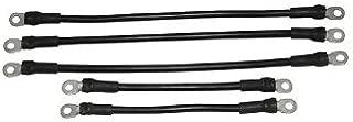 Golf Cart Yamaha 36v G14 G16 1994+ Battery Cable Kit 4 Gauge