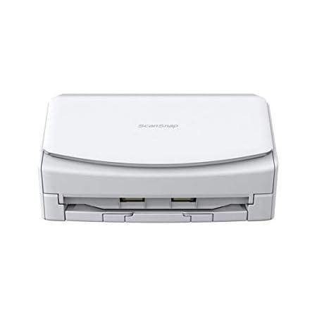 富士通 PFU ドキュメントスキャナー ScanSnap iX1600 (ホワイト/両面読取/ADF/4.3インチタッチパネル/Wi-Fi対応)
