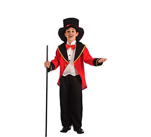 El Rey del Carnaval Disfraz de Presentador de Circo para niño