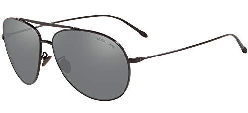 Giorgio Armani Sonnenbrille AR6093 30146G Brille Herren Farbe Schwarz Linse grigio Größe 61 mm