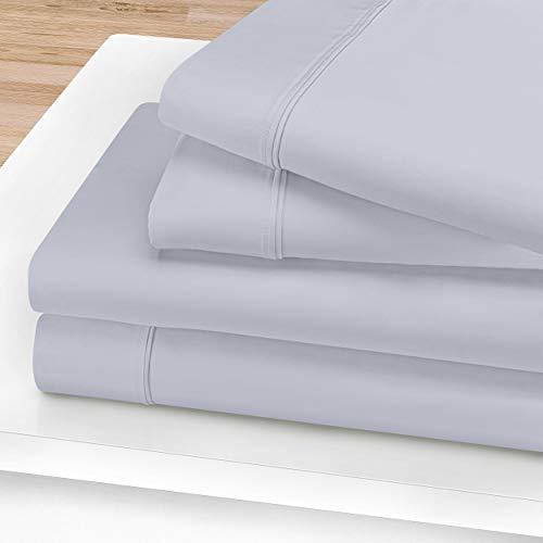 Lowest Price! Celeste 100% Egyptian Cotton Sheet Set, 1200-Thread Count, Long-Staple Cotton, Soft, S...