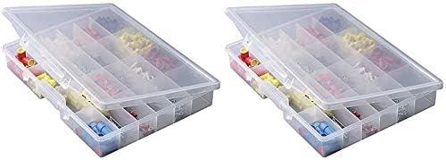 Plano Molding 5324 Portable Organizer Compartments Pre 4 half years warranty 24-Fixed