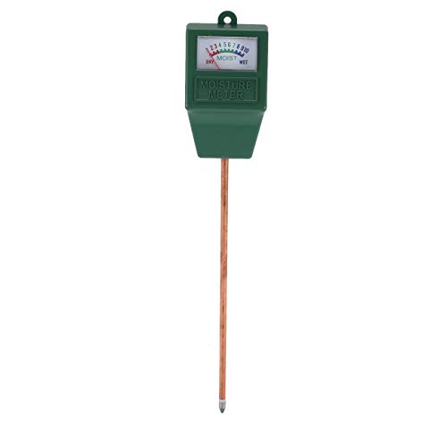 Ballylelly Gartenpflanze Bodenfeuchtemessgerät Hydroponics Analyzer Messgerät Feuchtemessgerät Für Indoor Outdoor Gartenpflanzen